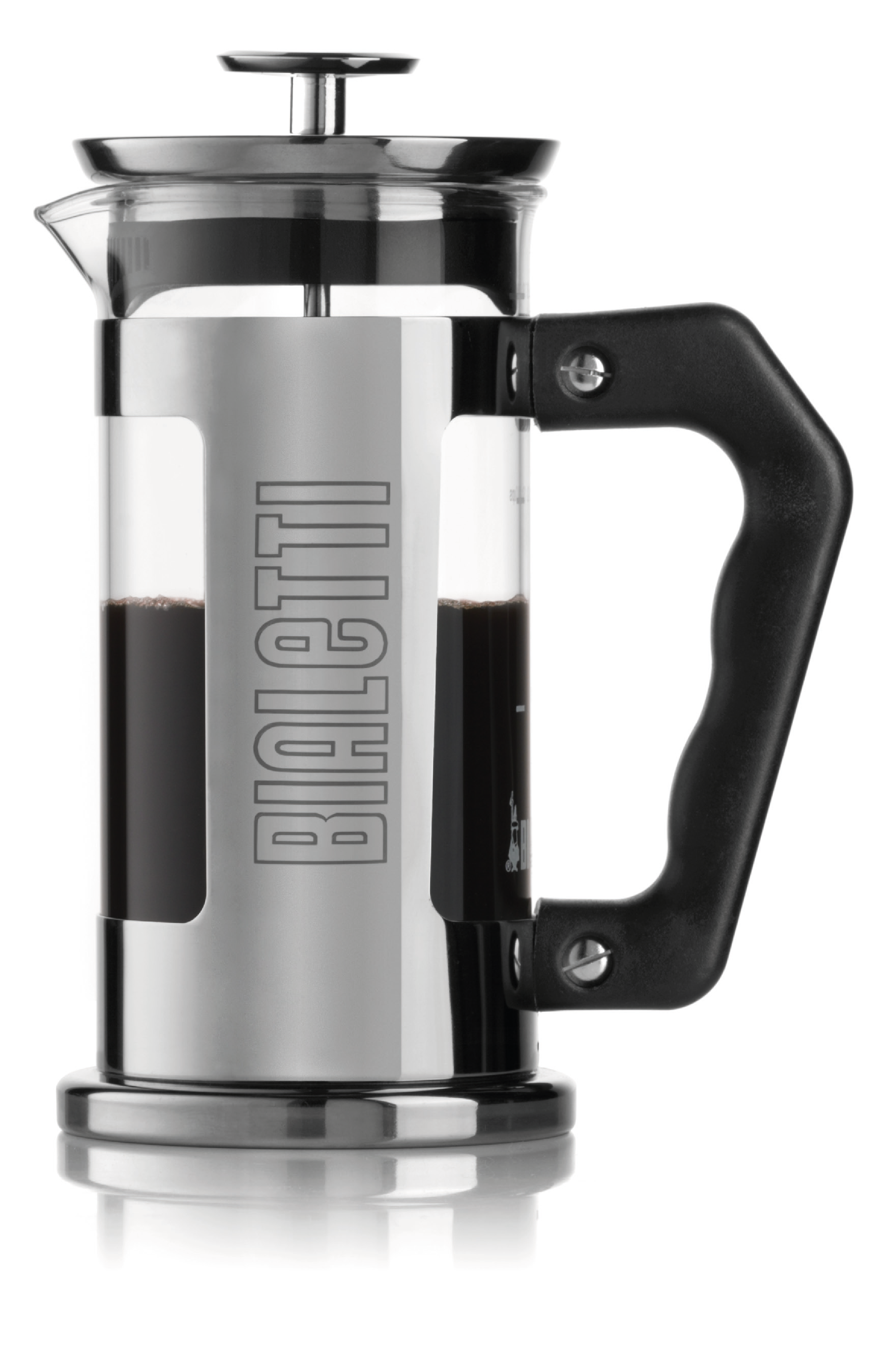 Bialetti French Press 0,35 L, nápis Bialetti