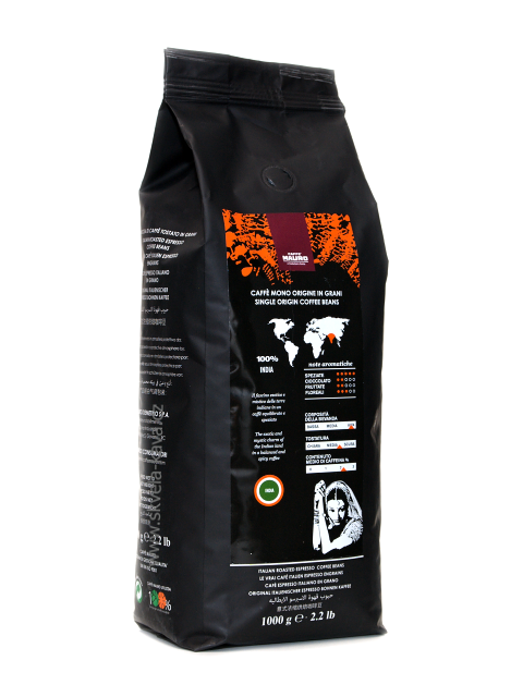 Mauro Caffé Single Origin India - 1kg, zrnková káva