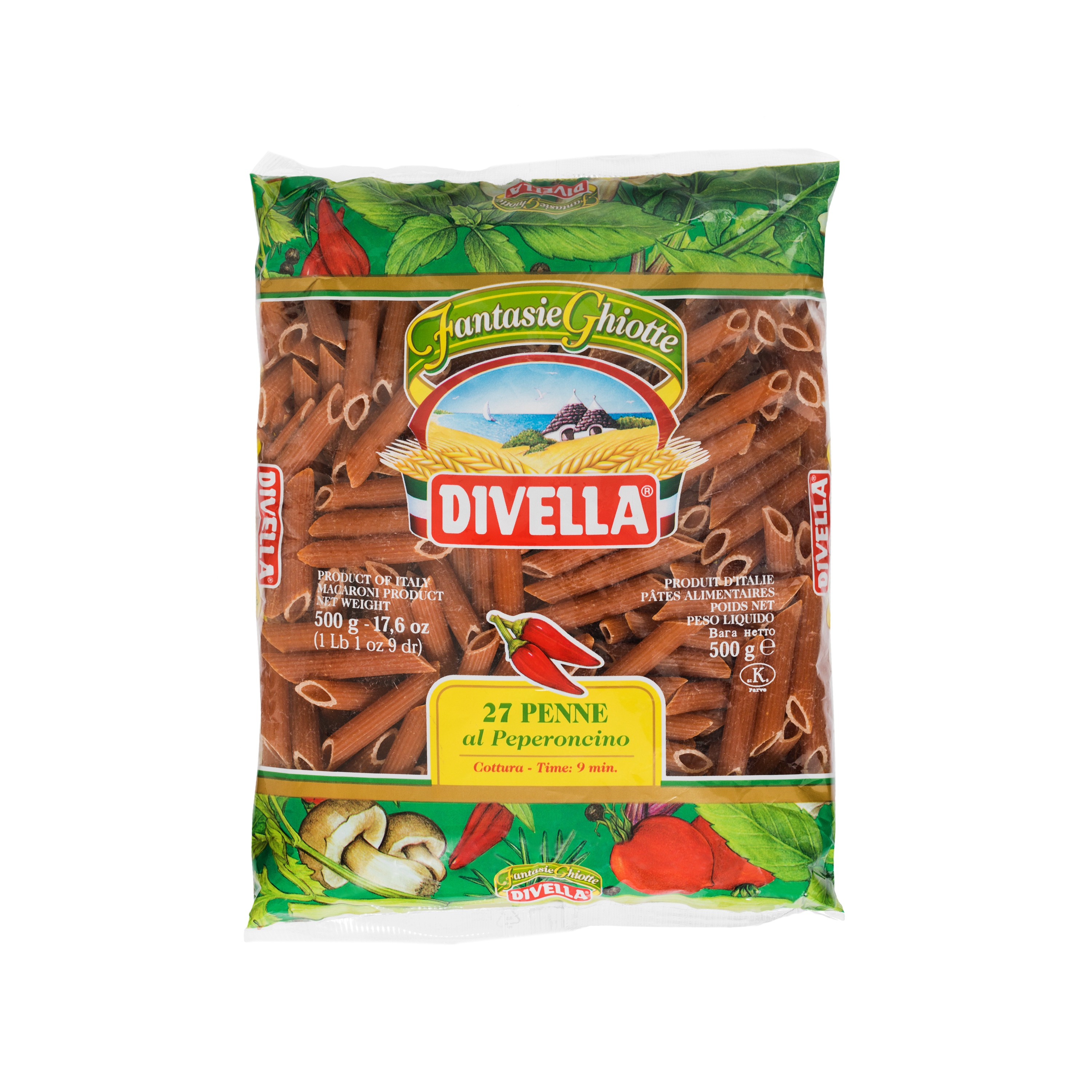 Penne Peperoncino Divella 500g